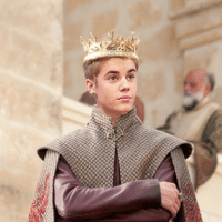There's an entire Tumblr account dedicated to making Joffrey Baratheon into Justin Bieber. Everything: @j There's an entire Tumblr account dedicated to making Joffrey Baratheon into Justin Bieber. Everything