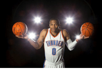 Bad, Basketball, and Memes: LDING I wish there was basketball on TV tonight. Too bad there aren't any games on right now. Here's a picture of Westbrook to keep you company until tomorrow when basketball starts.