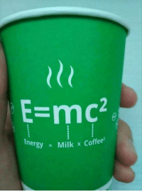 Coffee, Milk, and Ÿ˜˜: le  E-mc  ner  y Milk x Coffee