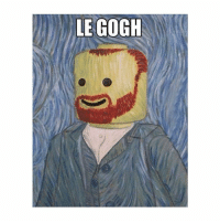 Classical Art, Le Gogh, and Meet: LE GOGH Meet Le Gogh