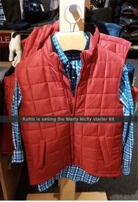 Kohls: LE  Kohls is selling the Marty Mcfly starter kit.