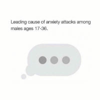 Memes, Anxiety, and Heart: Leading cause of anxiety attacks among  males ages 17-36. This is giving me heart palpitations just looking at it... 😤😤