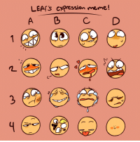 "Meme, Target, and Tumblr: LEAfS CYpression meme!  A b CD <p><a href=""http://theleafcuter.tumblr.com/post/164647475636/i-did-a-meme-free-to-use-just-credit-me"" class=""tumblr_blog"" target=""_blank"">theleafcuter</a>:</p>  <blockquote><p>I DID A MEME! Free to use, just credit me!</p></blockquote>"