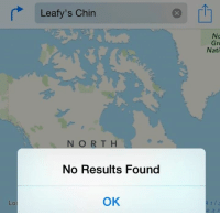 Dank Memes, Gre, and Chins: Leafy's Chin  NORTH  No Results Found  OK  Gre  Nati The savagery