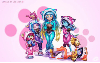 League of Cat Pajamas   (gimme dat Sona skin) -Drachen: LEAGUE OF LEGENDS League of Cat Pajamas   (gimme dat Sona skin) -Drachen