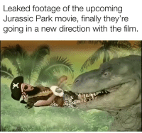 Jurassic Park: Leaked footage of the upcoming  Jurassic Park movie, finally they're  going in a new direction with the film.