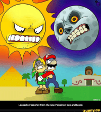 Leaked screenshot from the new Pokemon Sun and Moon  ifunny.C3