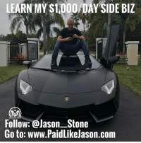 Want to Live the lifestyle of your dreams? 🔥Click link bio 👉@millionaire_mentor for more info! Join My Team, www.PaidLikeJason.com🚀 And start making passive income online! - Learn my system that has allowed me to generate $100k-month - The average millionaire has 7 sources of income, create your next 5 figure-month income stream now!✔️ - Learn my secret affiliate business that has a team of sales coaches that closes big ticket sales for you!💰 - Learn how to make money by just sending emails📩 - I will personally set you up with marketing funnels that convert!🎯 - 🔥Click link bio 👉@millionaire_mentor for more info! - Follow my personal @jason__stone: LEARN MY S1,000 DAY SIDE BIZ  Follow: @Jason Stone  Go to: www.PaidLikelason.com Want to Live the lifestyle of your dreams? 🔥Click link bio 👉@millionaire_mentor for more info! Join My Team, www.PaidLikeJason.com🚀 And start making passive income online! - Learn my system that has allowed me to generate $100k-month - The average millionaire has 7 sources of income, create your next 5 figure-month income stream now!✔️ - Learn my secret affiliate business that has a team of sales coaches that closes big ticket sales for you!💰 - Learn how to make money by just sending emails📩 - I will personally set you up with marketing funnels that convert!🎯 - 🔥Click link bio 👉@millionaire_mentor for more info! - Follow my personal @jason__stone