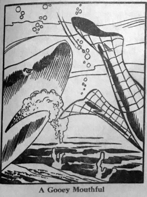 Leave that shark alone, Spidey, you weirdo: Leave that shark alone, Spidey, you weirdo