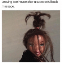 Leaving bae house after a successful back  massage. hahahahaha ffs dick down a success @studress_xo go follow my babes @studress_xo @studress_xo @studress_xo