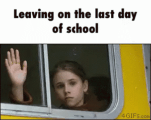 Last Day Of Work GIFs | Tenor: Leaving on the last day  of school  4GIFS.com Last Day Of Work GIFs | Tenor