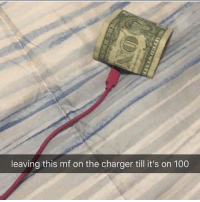 Anaconda, Memes, and Charger: leaving this mf on the charger till it's on 100 Not clickbait via /r/memes https://ift.tt/2PKE0fv