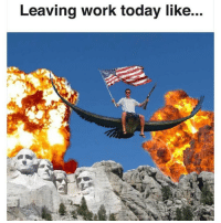 Murica. (@_theblessedone) thenewsclan 4thofJuly: Leaving work today like... Murica. (@_theblessedone) thenewsclan 4thofJuly