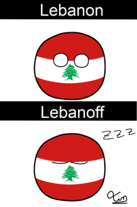 Bad Joke of the week :v  ~ Tintinero: Lebanon  Lebanoff  E 2.2 Bad Joke of the week :v  ~ Tintinero