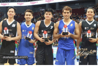 "Memes, Prince, and Vegeta: lebisco  YA.  LP  #KAPAMILYAPLAYOFFS  bisco  200  NI STAR  AR  TAR Star Magic basketball Mythical 5  Axel Torres, Young JV, Hashtag Ronnie, Gerald Anderson and the one and only ""STEPH CURRY NG PINAS, BANDWAGON KING"" Daniel Padilla!!!  PS: Daniel ""Steph Curry ng Pinas"" Padilla got robbed! Siya dapat ang MVP hindi si Axel Torres.  Prince Vegeta"
