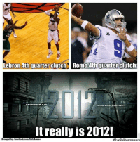 It's 2012?