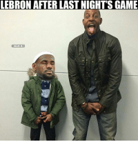 Nba,  Iguodala, and The Games: LEBRON AFTER LAST NIGHTS GAME  ONBAMEMES Andre Iguodala & LeBron after the game!