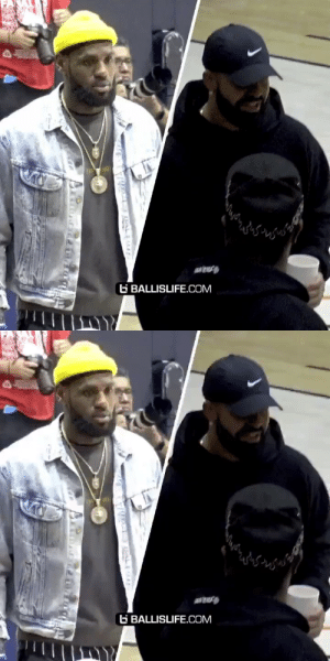 LeBron & Drake pulled up to the Sierra canyon game 👀👀 https://t.co/ChcH8hm4Nn: LeBron & Drake pulled up to the Sierra canyon game 👀👀 https://t.co/ChcH8hm4Nn
