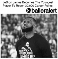 "Club, Dirk Nowitzki, and Drake: LeBron James Becomes The Youngest  Player To Reach 30,000 Career Points  @balleralert  Pe  HIS  REAM  SPIREDTHEWORLD LeBron James Becomes The Youngest Player To Reach 30,000 Career Points - blogged by @MsJennyb ⠀⠀⠀⠀⠀⠀⠀ ⠀⠀⠀⠀⠀⠀⠀ On Tuesday, LeBronJames reached another NBA milestone in his historic 15th season. The Akron-bred athlete hit his 30,000 point against the San Antonio Spurs, joining an elite club of NBA greats, including Kareem Abdul-Jabbar, Kobe Bryant, Karl Malone, Michael Jordan, Wilt Chamberlain and Dirk Nowitzki. ⠀⠀⠀⠀⠀⠀⠀ ⠀⠀⠀⠀⠀⠀⠀ Just ahead of the game, only 7 points from the major feat, James took to Instagram to congratulate himself on the ""accomplishment-achievement tonight that you'll reach!"" Hours later, just before the end of the first quarter, James hit a jump shot to become the youngest player to reach 30,000 career points. ⠀⠀⠀⠀⠀⠀⠀ ⠀⠀⠀⠀⠀⠀⠀ But, in true Bron fashion, he one-upped himself by setting two historical records with the same shot. According to the NBA, James also became the first player in NBA history to reach 30,000 points, 7,000 assists, and 7,000 rebounds. ⠀⠀⠀⠀⠀⠀⠀ ⠀⠀⠀⠀⠀⠀⠀ James' accomplishment was acknowledged by the Spurs' home crowd, who congratulated the King with a standing ovation. The superstar's family and friends shared their thoughts on social media, while several celebrities gave their remarks via a video message. Fellow superstars from the likes of Jay-Z, Drake and Kevin Hart congratulated the greatest player in the world on the milestone, while the NBA Commissioner congratulated Bron in a separate statement. ⠀⠀⠀⠀⠀⠀⠀ ⠀⠀⠀⠀⠀⠀⠀ ""Congratulations to LeBron on reaching 30,000 points - yet another milestone in an extraordinary career that continues to inspire,"" Adam Silver said."