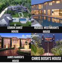 Superior Funny, LeBron James, And Memes: LEBRON JAMESu0027 HOUSE RUSSELL WESTBROOKu0027S  HOUSE @