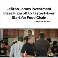 55e5b0a3978b LeBron James Investment Blaze Pizza Off to Fastest-Ever Start for Food  Chain RepostBy a PIZZA Chain Backed by Basketball Star LeBronJames Has Been  Named the ...