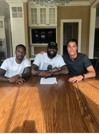 LeBron James, Twitter, and Lebron: LeBron James is officially a Laker.   (via KlutchSports/Twitter)