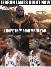 LeBron and co just swept the Raptors back to Toronto! https://t.co/N7k0SSSHKT: LEBRON JAMES RIGHT NOW  @NBAMEMES  I HOPE THEY REMEMBER YOU  pTo LeBron and co just swept the Raptors back to Toronto! https://t.co/N7k0SSSHKT
