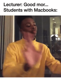 Target, Tumblr, and Blog: Lecturer: Good mor...  Students with Macbooks: blackmodel:STOP it