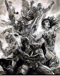 Lee Bermejo - This account is sponsored by @henrytheartistiam , one of instagram's greatest comic artists! Make sure to check him out for superhero-anime-video game art! - Check out @charon_comics too and sign up for their mailing list for deals on their future comics !: Lee Bermejo - This account is sponsored by @henrytheartistiam , one of instagram's greatest comic artists! Make sure to check him out for superhero-anime-video game art! - Check out @charon_comics too and sign up for their mailing list for deals on their future comics !