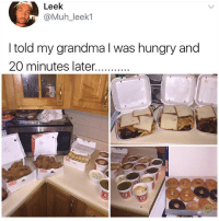 My Persian grandma would destroy an entire kingdom if she heard I was hungry: Leek  @Muh_leek1  I told my grandma I was hungry and My Persian grandma would destroy an entire kingdom if she heard I was hungry