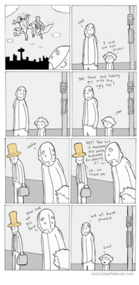 leeks: leek  New face  cool  wish  see that sad lo kins  gy with the  hat  HEY! Your  s awesome  And youre  for wearing  eh... vm  thank  We all have  ewers  in  www.lunarbaboon com