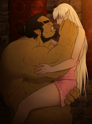 leftski-art:  They may be an orc and an elf, but Kura Tai and Eris hit it off really, really, really well.Eris belongs to @sagelylegs~: leftski-art:  They may be an orc and an elf, but Kura Tai and Eris hit it off really, really, really well.Eris belongs to @sagelylegs~