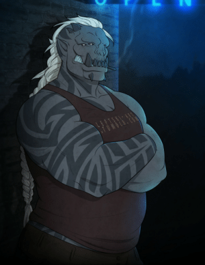 leftski-art:  Made another space orc, her name is Mia  OP is she single by any chance: LEFTSKI ART  TUMBLR leftski-art:  Made another space orc, her name is Mia  OP is she single by any chance