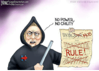 Civility: LegalInsurrection.com  2018 Creators.com  Email; branco@reagan.com  NO POWER,  NO CIVILITY  Wesge  RULE