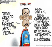 Hah.: LegalInsurrection.com  TOUGH GUY  AND DO  TRUMP  WHAT I DO  NEEDS  (ROULAS GEORGE BUSH,  BLAME  STOP  FOXNEWS  WHINING  AROUT THE  TALK RADIO,  BTTERCUNGERS,  MEDIA  THE TEA PARTY,  AND  CLIMATE CHANGE  Email branco@reagan,com Hah.
