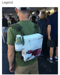 Memes, Wine, and Backpacking: Legend  CAHEo  Louis Boxed wine backpack ☑ cups ☑ hero status achieved ☑ (u-bustmonth) | For more @aranjevi