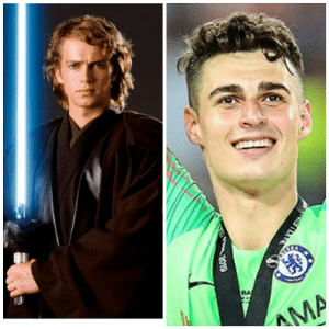 legend says that anakin skywalker gave up on the jedi council and become a footballer instead: legend says that anakin skywalker gave up on the jedi council and become a footballer instead