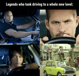 Driving, Legends, and Speed: Legends who took driving to a whole new level:  257R The SPEED