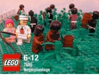Who loved to play Lego as a kid?: LEGO  6-12  7655  Negerplantage Who loved to play Lego as a kid?