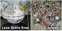 <p>These LEGO Sets Are Getting Better And Better.</p>: LEGO DEATH STARLEGO ALDERAAN <p>These LEGO Sets Are Getting Better And Better.</p>