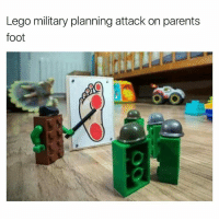 LIKE ==> The Meme Train <== for more!: Lego military planning attack on parents  foot LIKE ==> The Meme Train <== for more!