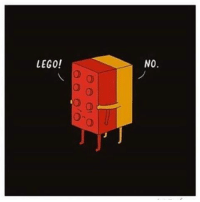 Never let go!: LEGO!  NO. Never let go!