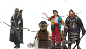 Legolas has had just about enough with Jim Carey's over the top style. He puts an arrow through the chest of Ace Ventura Pet Detective 1994 Action figure in the spirit of keeping up with Gimli. Day 5: Legolas has had just about enough with Jim Carey's over the top style. He puts an arrow through the chest of Ace Ventura Pet Detective 1994 Action figure in the spirit of keeping up with Gimli. Day 5
