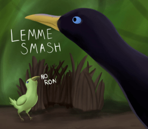 LEMME SMASH by JamoART on DeviantArt: LEMME  SMASH  NO  RON LEMME SMASH by JamoART on DeviantArt