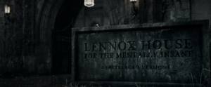 In Sucker Punch (2011), The opening sequence is set to the music of Sweet Dreams by The Eurythmics before Baby Doll is institutionalised in Lennox House, a nod to Annie Lennox, the frontwoman from The Eurythmics: LENNOX H OUSE  FOR THE MENTALLY INSANE  BRATTLERORO VERM ONT In Sucker Punch (2011), The opening sequence is set to the music of Sweet Dreams by The Eurythmics before Baby Doll is institutionalised in Lennox House, a nod to Annie Lennox, the frontwoman from The Eurythmics