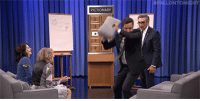 """Target, youtube.com, and Game: LEO  TON  PICTIONARY <p><a href=""""https://www.youtube.com/watch?v=cmVa-4_7m0I"""" target=""""_blank"""">Jimmy and Eugene Levy face off against Shailene Woodley and Catherine O'Hara in a game of Pictionary!</a><br/></p>"""