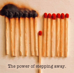 Don't spread it: LeOLTheRnd  The power of stepping away. Don't spread it
