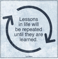 Follow our new page @alaskanhashqueen: Lessons  in life will  be repeated  until they are  learned  Spiril Science Follow our new page @alaskanhashqueen