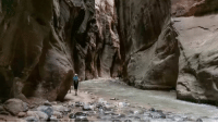 Let's go on a science hike! This time lapse footage shows the stunning geology of The Narrows, which is (you guessed it) the narrowest part of Zion Canyon. Located in a plateau region across central Utah to northern Arizona and including part of New Mexico and Colorado, this gorgeous canyon was created by the erosion and uplift of rock layers over millions of years. Who do you want to take this hike with? Tag them in the comments! Thanks to @roblah for capturing this amazing footage. Like what you see here on @Science? Make sure to click the link in our bio to learn more interesting stuff from Guff! BestOf Science Geology ZionNationalPark Hiking TheNarrows BestOf: Let's go on a science hike! This time lapse footage shows the stunning geology of The Narrows, which is (you guessed it) the narrowest part of Zion Canyon. Located in a plateau region across central Utah to northern Arizona and including part of New Mexico and Colorado, this gorgeous canyon was created by the erosion and uplift of rock layers over millions of years. Who do you want to take this hike with? Tag them in the comments! Thanks to @roblah for capturing this amazing footage. Like what you see here on @Science? Make sure to click the link in our bio to learn more interesting stuff from Guff! BestOf Science Geology ZionNationalPark Hiking TheNarrows BestOf