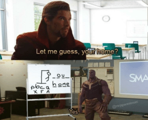 browsedankmemes:  Thanos memes are still hot right now, INVEST!! via /r/MemeEconomy https://ift.tt/2oUPFZj: Let me quess, your home?  OU  SMA  @mrjapaneseman  Yes browsedankmemes:  Thanos memes are still hot right now, INVEST!! via /r/MemeEconomy https://ift.tt/2oUPFZj